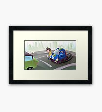 City Cruiser Framed Print
