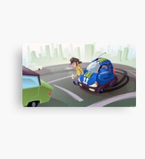 City Cruiser Canvas Print