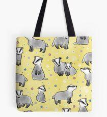 Meadow Badgers Tote Bag
