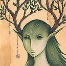 The Spirit in the Thornwood Tree by NadiaTurner