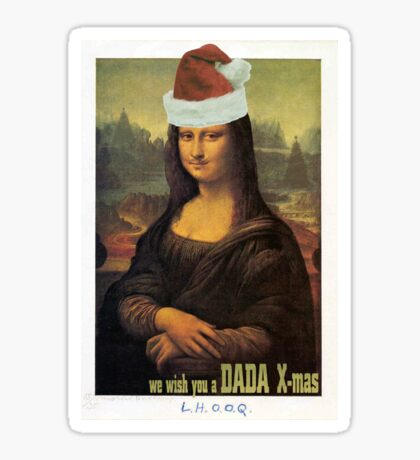 Dada X-mas Sticker