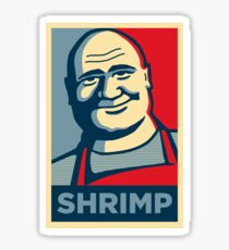 SHRIMP Poster Sticker