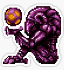 Super Metroid Pink Chozo Sticker