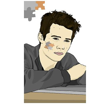 Dylan O'Brien - Puzzle Desert [Version 1] by rinartistic