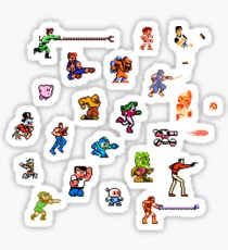 Champions of the NES! Sticker