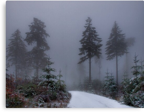 Early Snow by Charles & Patricia   Harkins ~ Picture Oregon