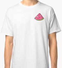 Watercolor Watermelon Slice Classic T-Shirt