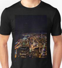 Seattle By Night Unisex T-Shirt