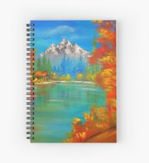 Middle of  Autumn  Spiral Notebook