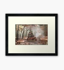 Wise Tortise - Fantasy Artwork Framed Print