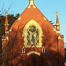 Shadowy Church by MIchelle Thompson