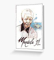 Happy Birthday Mandela Greeting Card