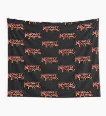 Monkey Island in Chains Wall Tapestry