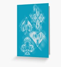Aces of Ice Greeting Card