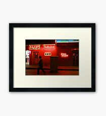 CHINA OF THE LIGHT : The red lion Framed Print