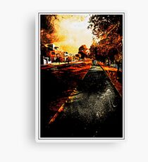 My Neighborhood Canvas Print