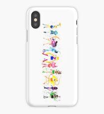 Watercolor Senshi Vertical iPhone Case/Skin