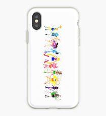 Watercolor Senshi Vertical iPhone Case