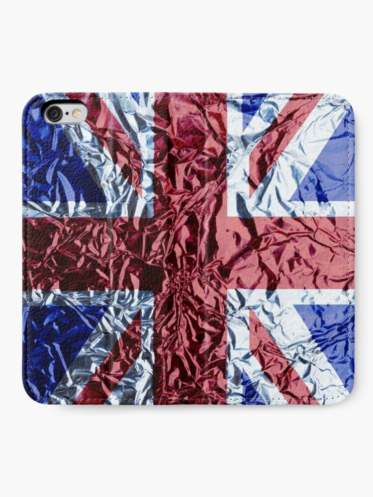 Alternate view of The Union Jack iPhone Wallet