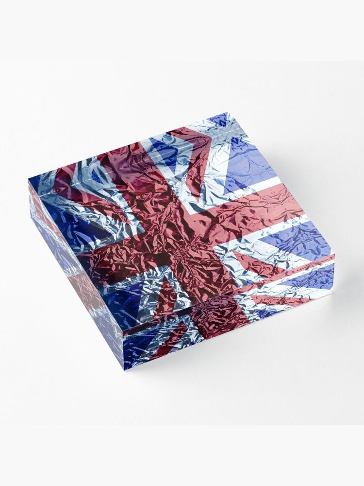 Alternate view of The Union Jack Acrylic Block
