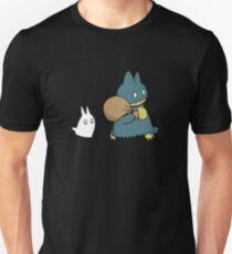 Munchlax and Chibi Totoro Unisex T-Shirt