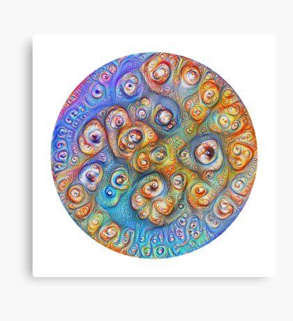 Planet Four #Deepdream Canvas Print