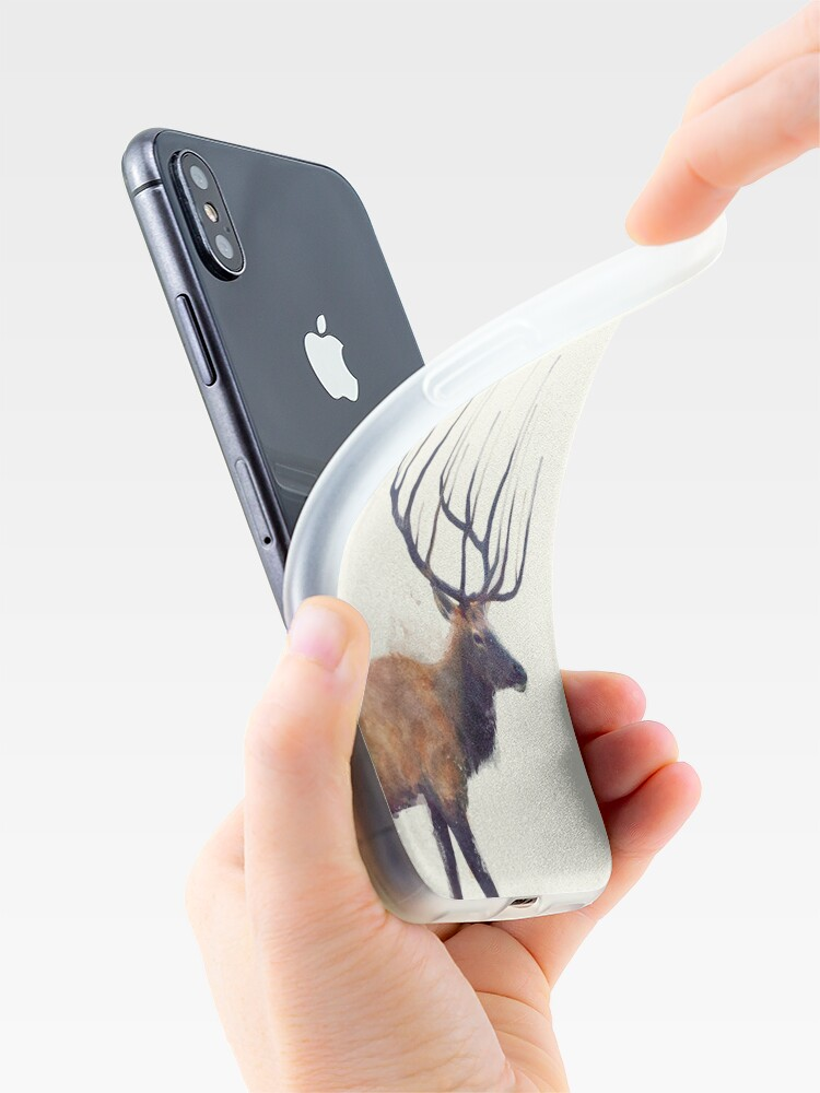 Alternate view of Elk // Reflect iPhone Case & Cover