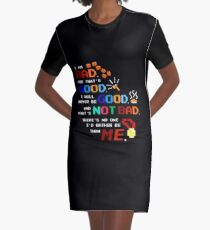 No One I'd Rather Be Graphic T-Shirt Dress