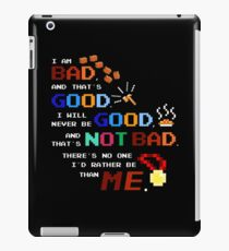 No One I'd Rather Be iPad Case/Skin