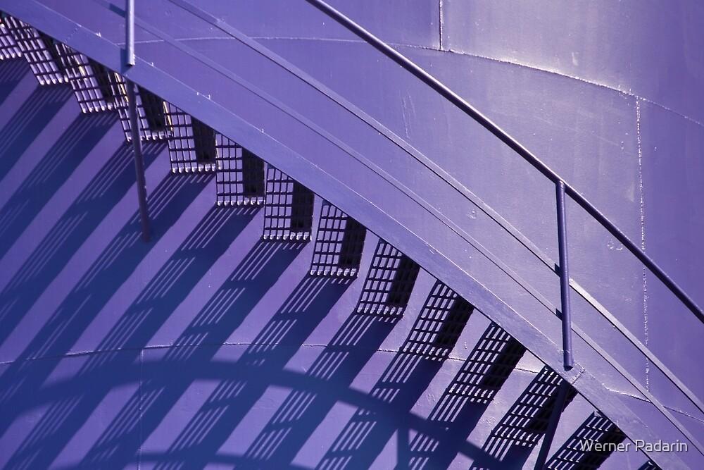 Purple & Brown by Werner Padarin