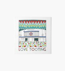 Love Tooting (Tooting Broadway Station) Art Board