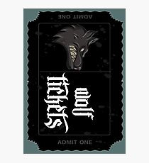Wolf Tickets Photographic Print