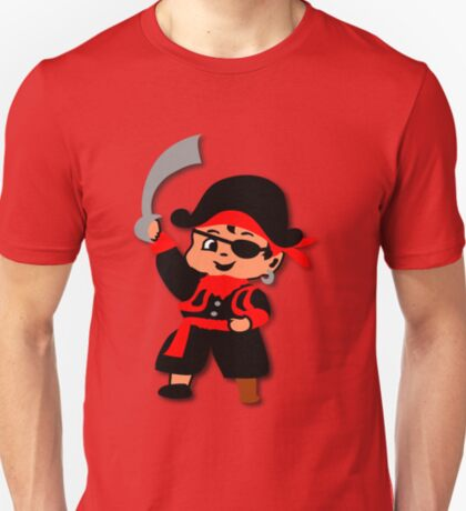 Pirate Kid Billy Tee T-Shirt