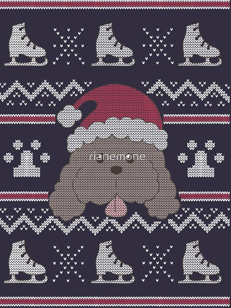 Makkachin Christmas by rianemone
