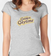 Golden Gaytime Women's Fitted Scoop T-Shirt