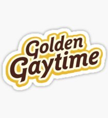 Golden Gaytime Sticker