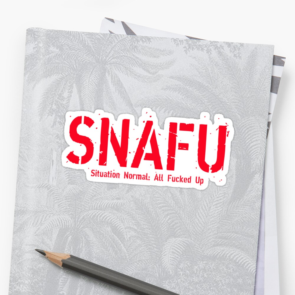 SNAFU by Fred Seghetti