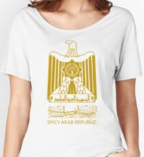 Spicy Arab Republic - Coat of Arms Women's Relaxed Fit T-Shirt