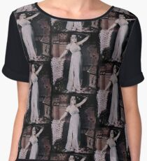 Dramatic Cleopatra  Chiffon Top