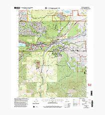 USGS TOPO Map California CA Truckee 295533 2000 24000 geo Photographic Print