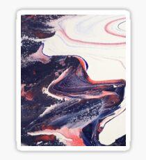 Pastel swirl 2 Sticker