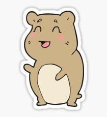 cartoon cute hamster Sticker