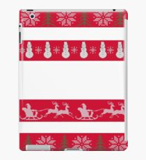 UGLY CHRISTMAS SWEATER, CHRISTMAS UGLY SWEATER iPad Case/Skin