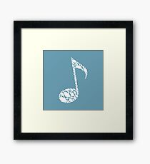 Cloud the note Framed Print