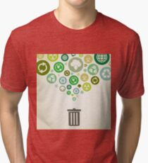 Ecology Tri-blend T-Shirt