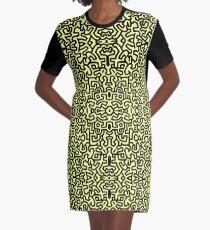 Neu - MUSTER T-Shirt Kleid