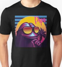Pepe the Frog 80s Malibu Style Meme Unisex T-Shirt