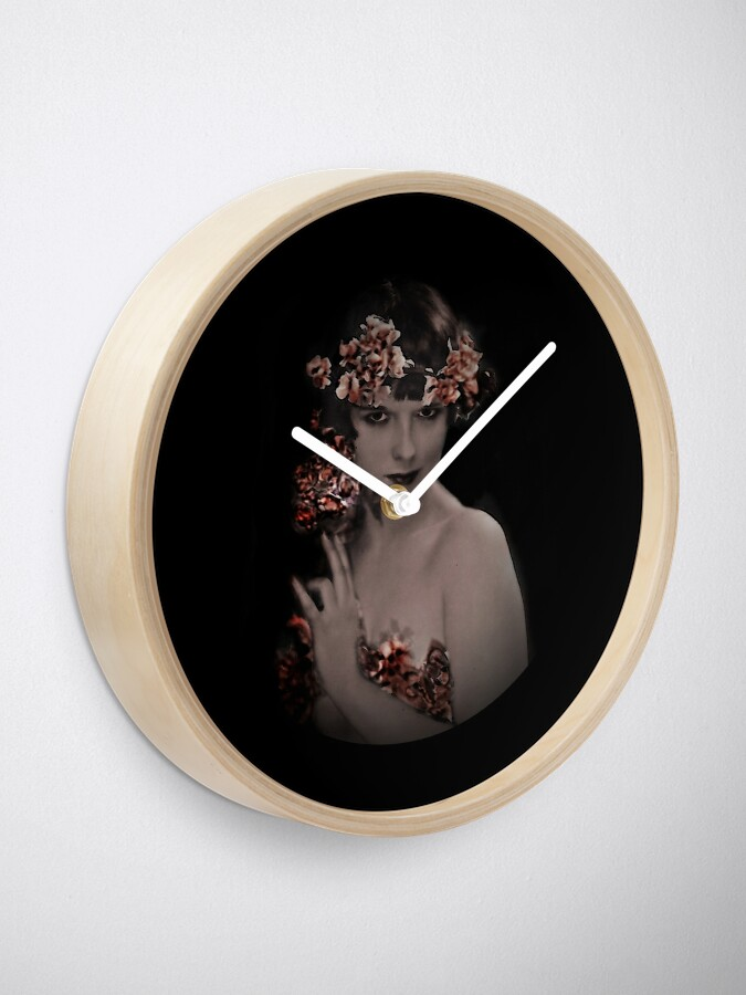 Alternate view of Louise Fairy Muse Clock