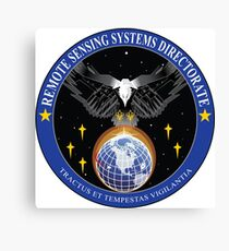 Remote Sensing Systems Directorate (RSSD) Logo Canvas Print