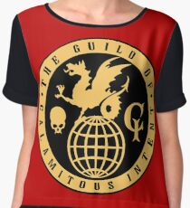 The Guild of Calamitous Intent Chiffon Top